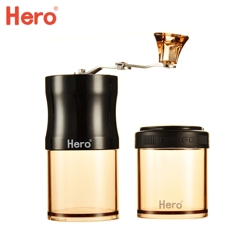 Coffee Grinder Hand Mill Mini Portable Manual Coffee Machine Household Grinder stainless steel manual coffee grinder household hand grinder grinder small portable mini washing
