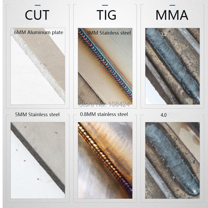 3IN1 daugiafunkcis plazminis pjaustytuvas MMA TIG suvirintojas - Suvirinimo įranga - Nuotrauka 6