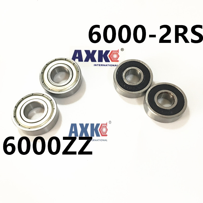 6000ZZ Bearing ABEC-5  10x26x8 mm Deep Groove 6000 ZZ Ball Bearings  80100 Z 6000ZZ 6000-2RS gcr15 6224 zz or 6224 2rs 120x215x40mm high precision deep groove ball bearings abec 1 p0