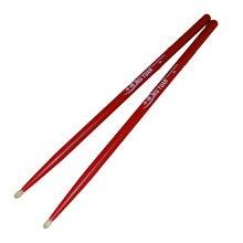 Hohe qualität 5A Drumsticks Hickory Wod magnettrommelstock Rot schlaginstrument Professionelle stick