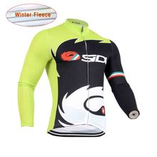 2016 New Hot Sale Cycling Thermal Fleece jersey high quality Outdoor Sport Pro cycling wear pro team ropa ciclismo hombre