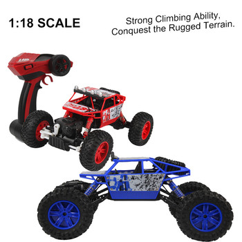 HB P1803 RC Cars 4WD 2.4Ghz Rally Climbing Car 1/18 Scale Radio Control Car Solid Frame  Drive Off-Road Race Trunk Cars YE11.27