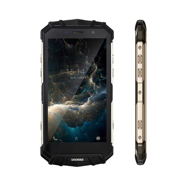 DOOGEE S60 4G Smartphone 5.2 inch IP68 Waterproof 12V 2A Quick Charge Octa Core Helio P25 6GB RAM 64GB ROM
