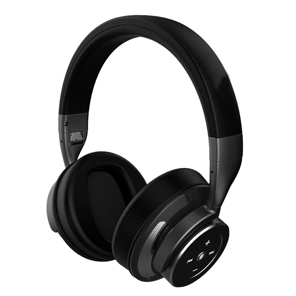 Bluetooth наушники с шумоподавлением наушники с адаптер для самолета зарядный кабель Чехол для самолета путешествия - 3