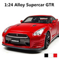 Supercar GTR 1:24 Alloy sliding model cars,Diecasts car,High quality Metal Model Car,free shipping