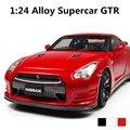 Superdeportivo GTR 1:24 modelo de Aleación de coches, a Troquel del coche, Modelo Del Coche de Metal de Alta calidad, envío libre