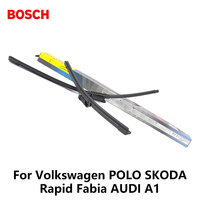2pcs Lot Bosch Car AEROTWIN Wipers Windshield Wiper Blades Dedicated Wipers For Volkswagen POLO SKODA Rapid