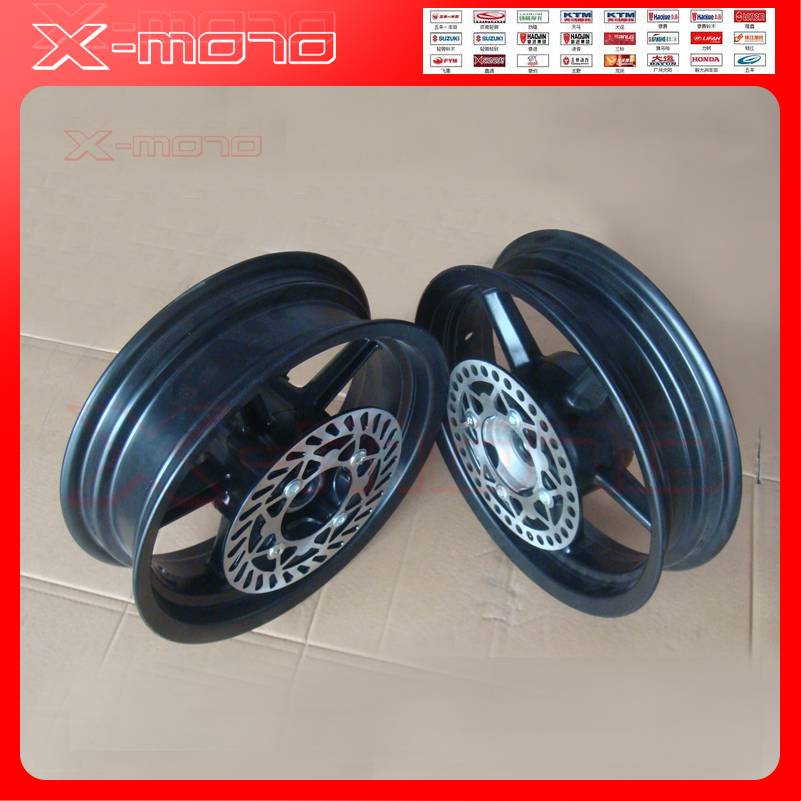 15mm hole 2.75-12inch Front & 3.50-12 Rear Dirt bike Pit Bike 12inch Vacuum Wheel Rim Front and Rear brake disc ainwheels утюг hotpoint ariston ii c 50 aa0