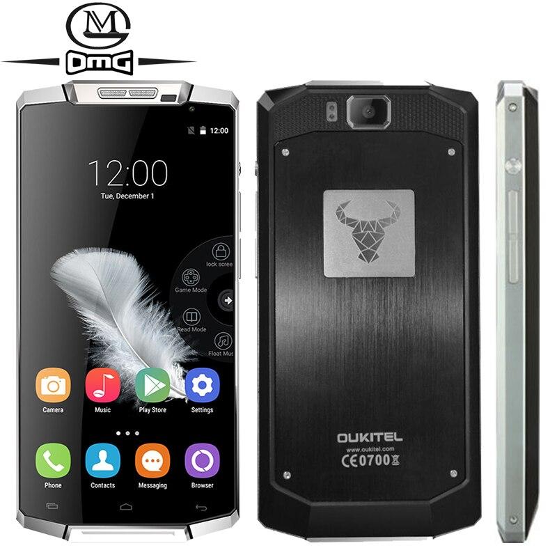Original Oukitel K10000 MTK6735 Quad Core Smartphone 10000mAh Battery 2GB RAM Android 5 1 FDD LTE