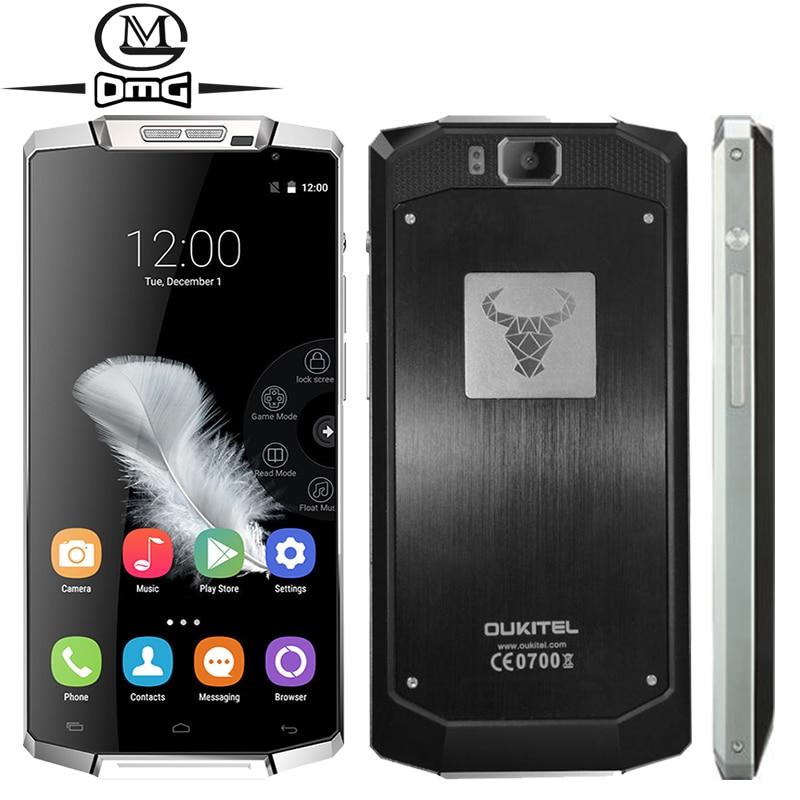 Original Oukitel K10000 MTK6735 Quad Core <font><b>Smartphone</b></font> <font><b>10000mAh</b></font> <font><b>Battery</b></font> 2GB RAM Android 5.1 FDD LTE 4G 5.5 inch mobile cell phone