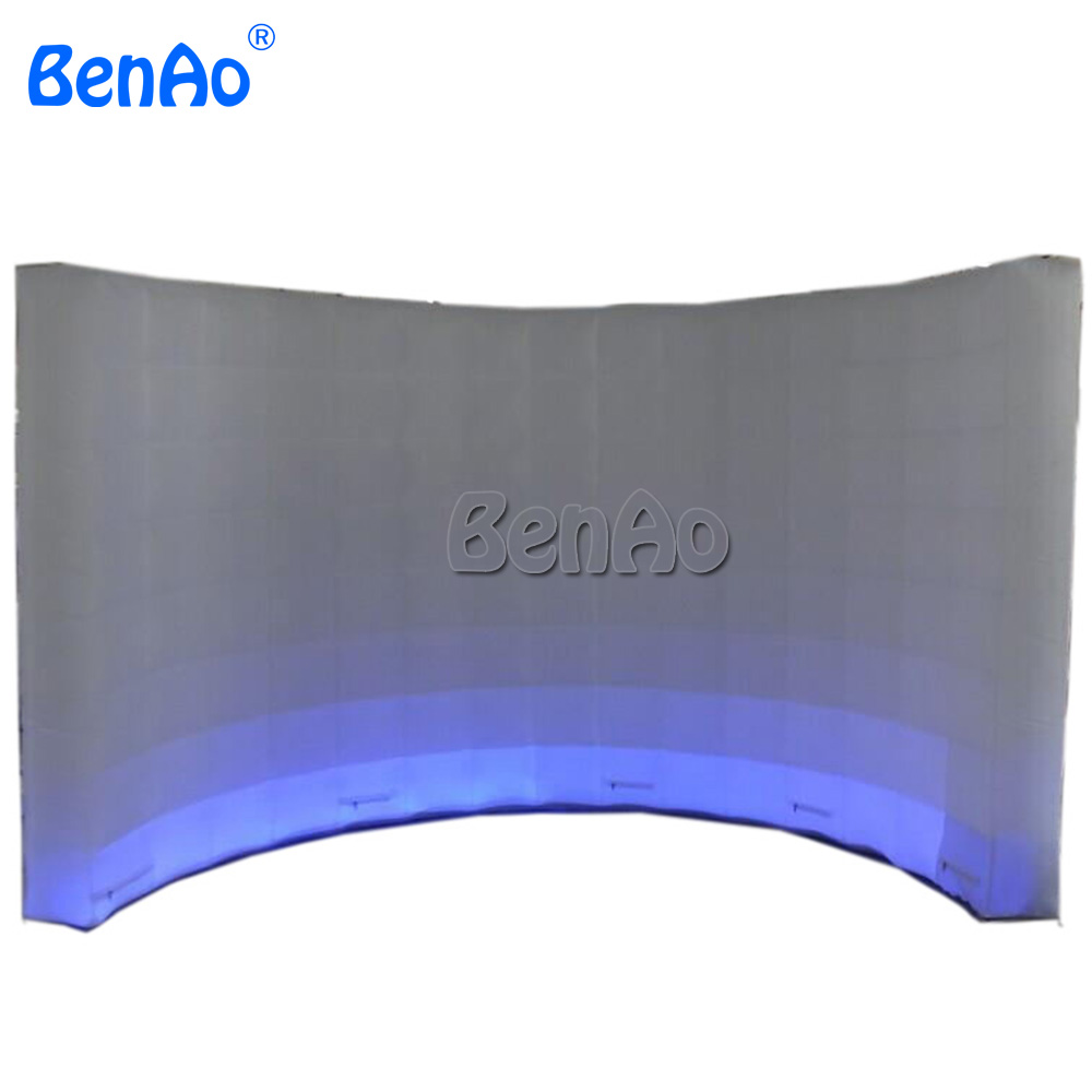 T839 BenAo Free shipping Colorful Lighting Led Inflatable Photo Booth Wall For Advertising/p Inflatable Led Video Wall for saleT839 BenAo Free shipping Colorful Lighting Led Inflatable Photo Booth Wall For Advertising/p Inflatable Led Video Wall for sale
