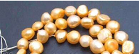 wb 002881 SALE Small 5 6mm Natural Orange Freshwater BAROQUE Pearl Loose Beads 1410pc