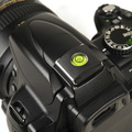 High Quality DSLR 1PCS/LOT Camera Bubble Spirit Level + Hot Shoe Protector Cover for Nikon Canon Casio Fuji Samsung