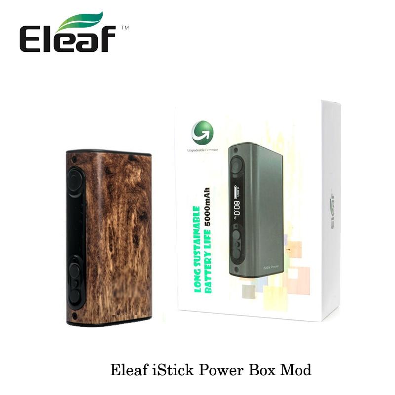 100% Original Electronic Cigarettes Eleaf ipower 80w Box Mod Kit 5000mah built in battery for 510 RDTA RTA Atomizer Vape Vaper-in Electronic Cigarette Mods from Consumer Electronics    3