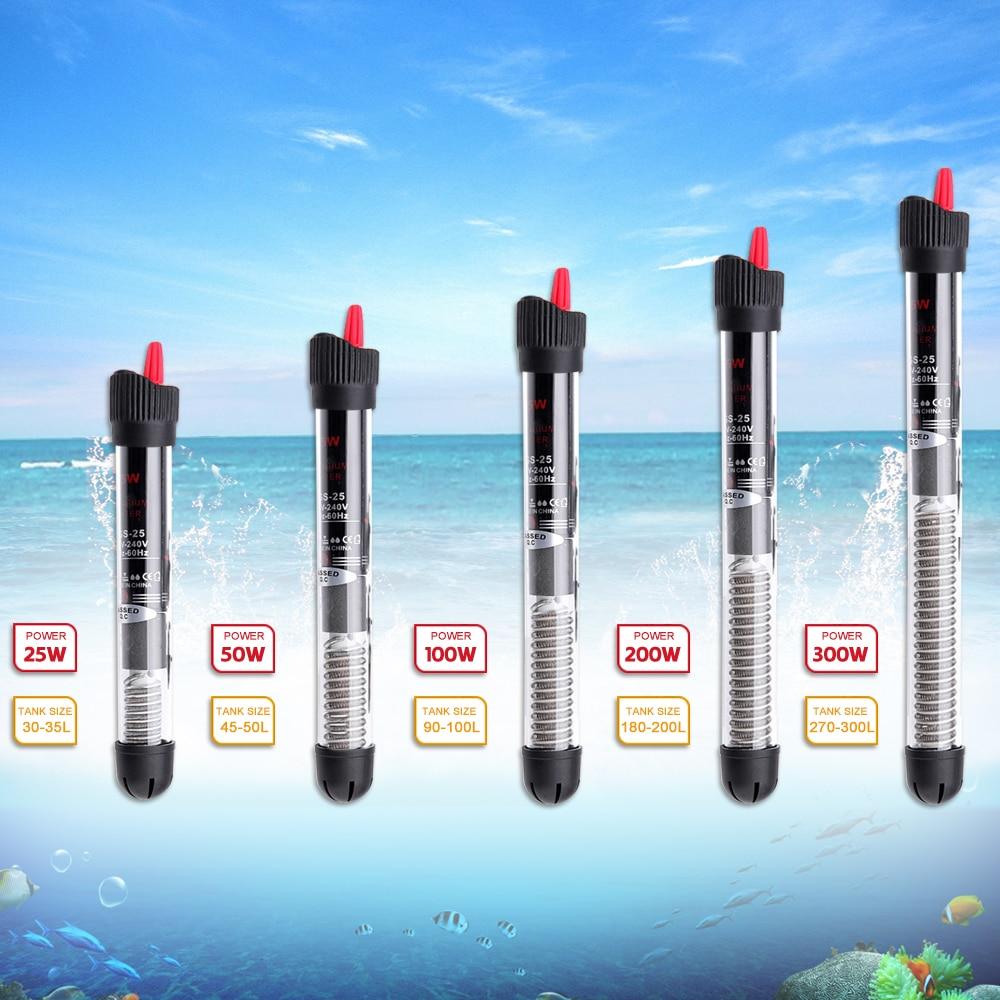 Hoomall Aquarium Heater Fish Tank Water Aquarium Accessories Automatic Constant Temperature Heating Rod Power Saving Heater