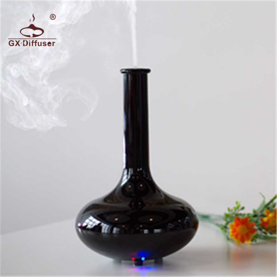 GX.Diffuser Mini LED Electric Air Humidifier Essential Oil Diffuser Aroma Diffuser Aromatherapy Humidifier Ultrasonic Mist Maker