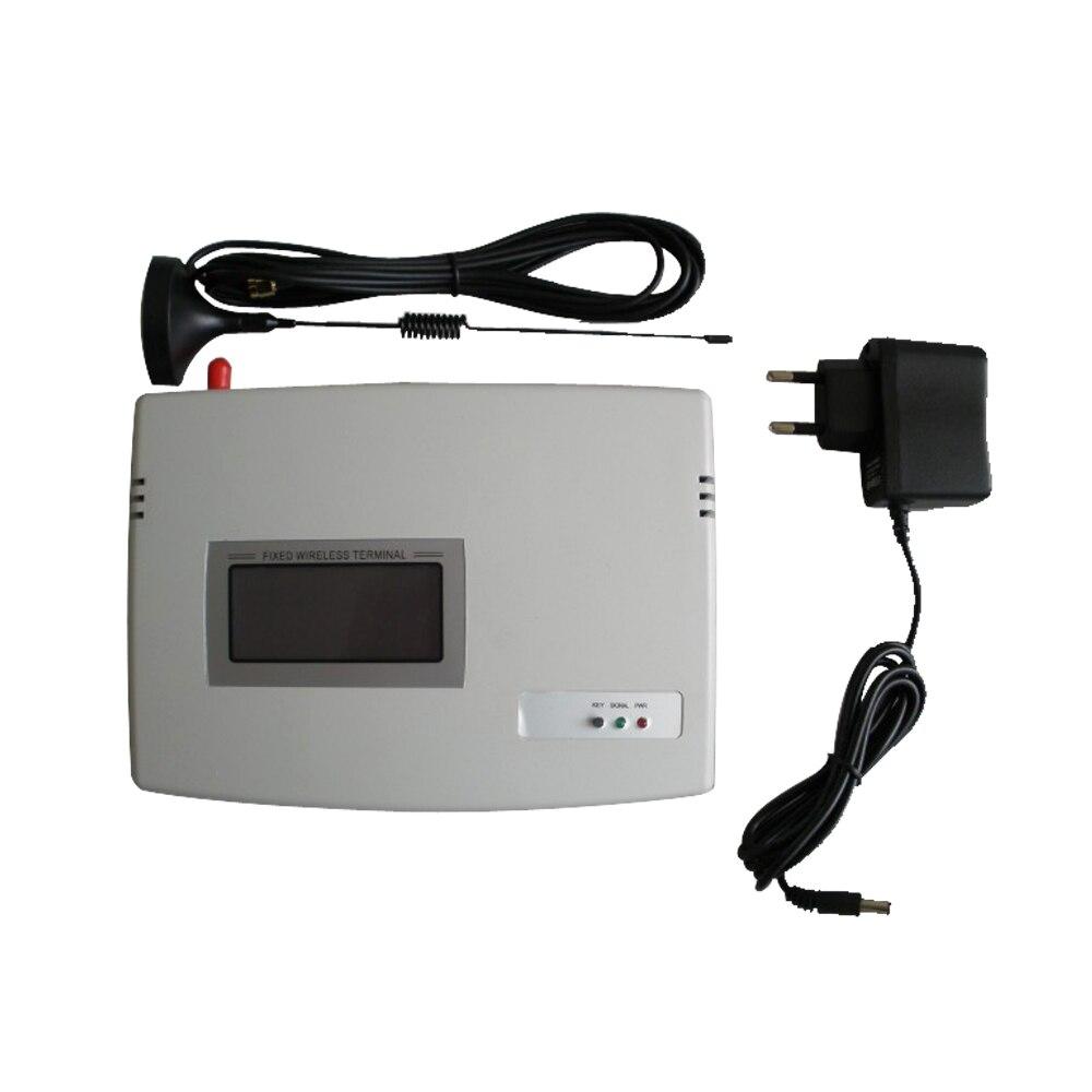 (1 set) carte SIM GSM Numérotation Terminal Sans Fil Fixe 900/1800 Mhz Pour Appeler traduire ou système D'alarme D'affichage D'affichage À CRISTAUX LIQUIDES De Bonne qualité