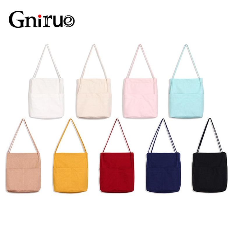 Casual Travel Art Cotton Canvas Women Tote Bags Beach Lady Eco HandBag High Quality Shoulder Shopper Bag canvas print shopper bag