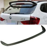E84 X1 Carbon Fiber AC Style Rear Roof Lip Spoiler Wing For BMW E84 X1 2009 2015