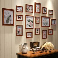 Hot Sale Carved Photo Frame Metal Picture Frame American Style Wooden Photo Frame For Wall