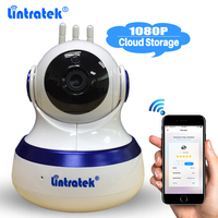 Lintratek Cloud Storage Camera Home Security Wireless Full HD 1080P Wifi IP Camera Onvif P2P Baby Monitor PTZ Night Vision IPCAM