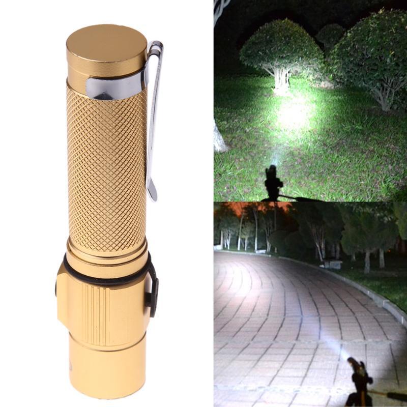 3000 Lumens Flashlight XPE Q5 LED 3 Modes Aluminum Alloy Mini Waterproof Skid-proof Design Portable Flashlight Torch Light