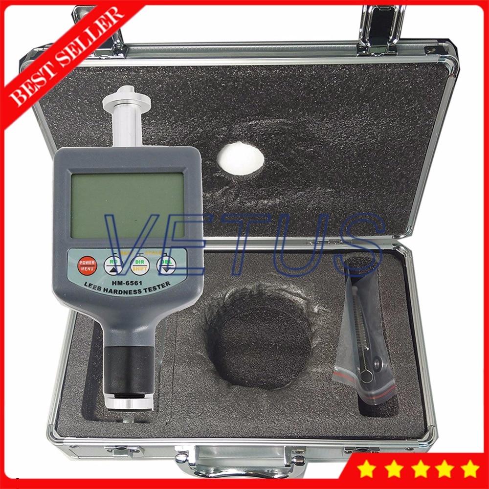 HM6561 200-900HLD Intégré Numérique Duromètre Portable Leeb Dureté Testeur Compteur sans bloc de fer