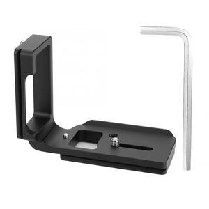 Image 1 - Liberação rápida qr l placa tripé suporte para nikon d750 câmera arca padrão plataforma tripé l suporte alça vertical