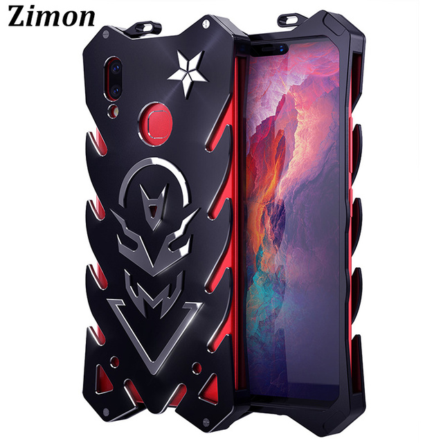 finest selection 2b2b0 e1137 US $19.98 |For VIVO V9 Case Cover Zimon New Luxury Full body Aluminum Metal  Cover Capa for VIVO Y85 / V9 Cover Funda Heavy Duty Shockproof-in Fitted ...
