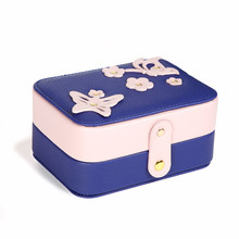 ФОТО jewelry boxes and packaging for necklaces ring earrings jewelry storage box pu leather case caixa de joias joyero organizador
