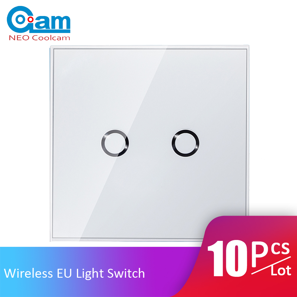 Smart Electronics 10pcs/lot Neo Coolcam Nas-sc01z Z-wave Plus Wall Light Switch 2ch Gang Home Automation Z Wave Smart Remote Control Light Switch Ample Supply And Prompt Delivery