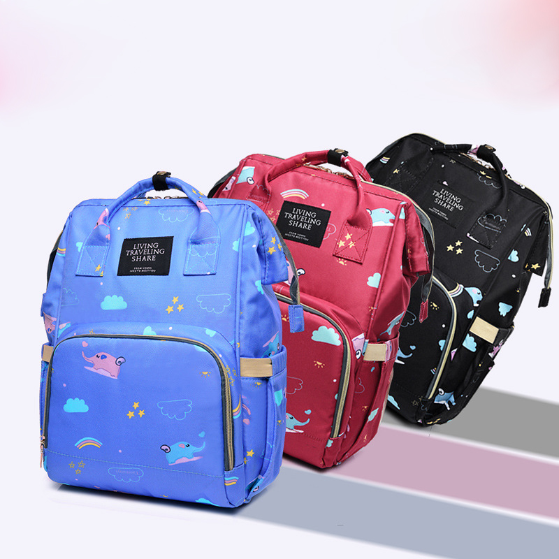 Fashion Women Backpac Bags For Mom Maternity Bags For Mother Bag Baby Stroller Organizer Backpack Large 3Color