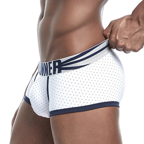 20 Styles Seeinner New Brand Panties Boxers Cotton Men Underwear U Convex Pouch Sexy Underpants Printed Leaves Homewear Shorts