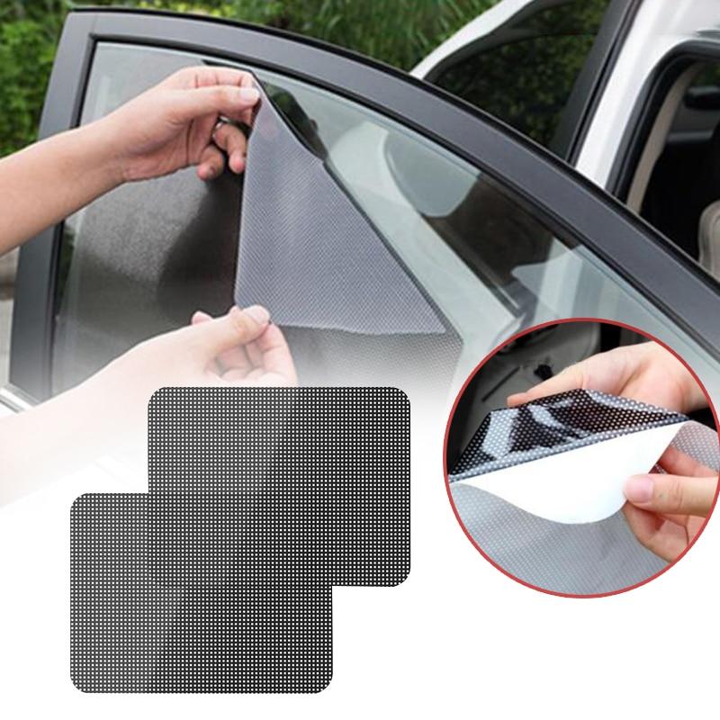 2 шт Универсальный Автомобильный солнцезащитный щиток для автомобиля солнцезащитный козырек с защитой от УФ теневой крышки лобового стекла