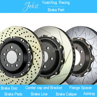 Jekit Brake disc with center cap 355*32mm for Volkswagen Scirocco 1.4T rim wheel 18'' inches for AP9040 brake calipers