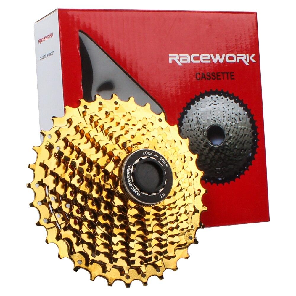 RACEWORK nouveau vélo de route 2019 11 vitesses 11-28 T/11-32 T roue libre vélo 11 22 S Cassette pignon d'inertie Compatible pour pièces