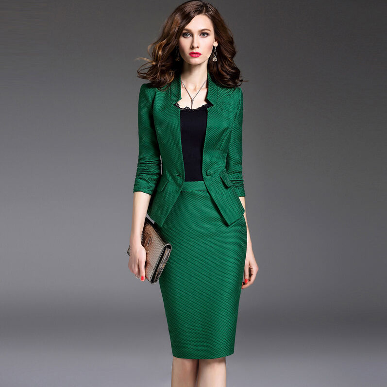 Online Get Cheap Green Women Suit -Aliexpress.com | Alibaba Group