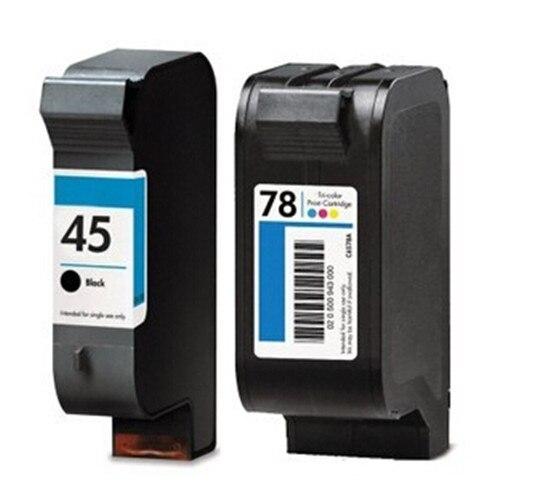 1 компл. совместим с HP 45 C51645A 78 C6578D картридж для одежды CAD плоттера струйный принтер бесплатная доставка продажа