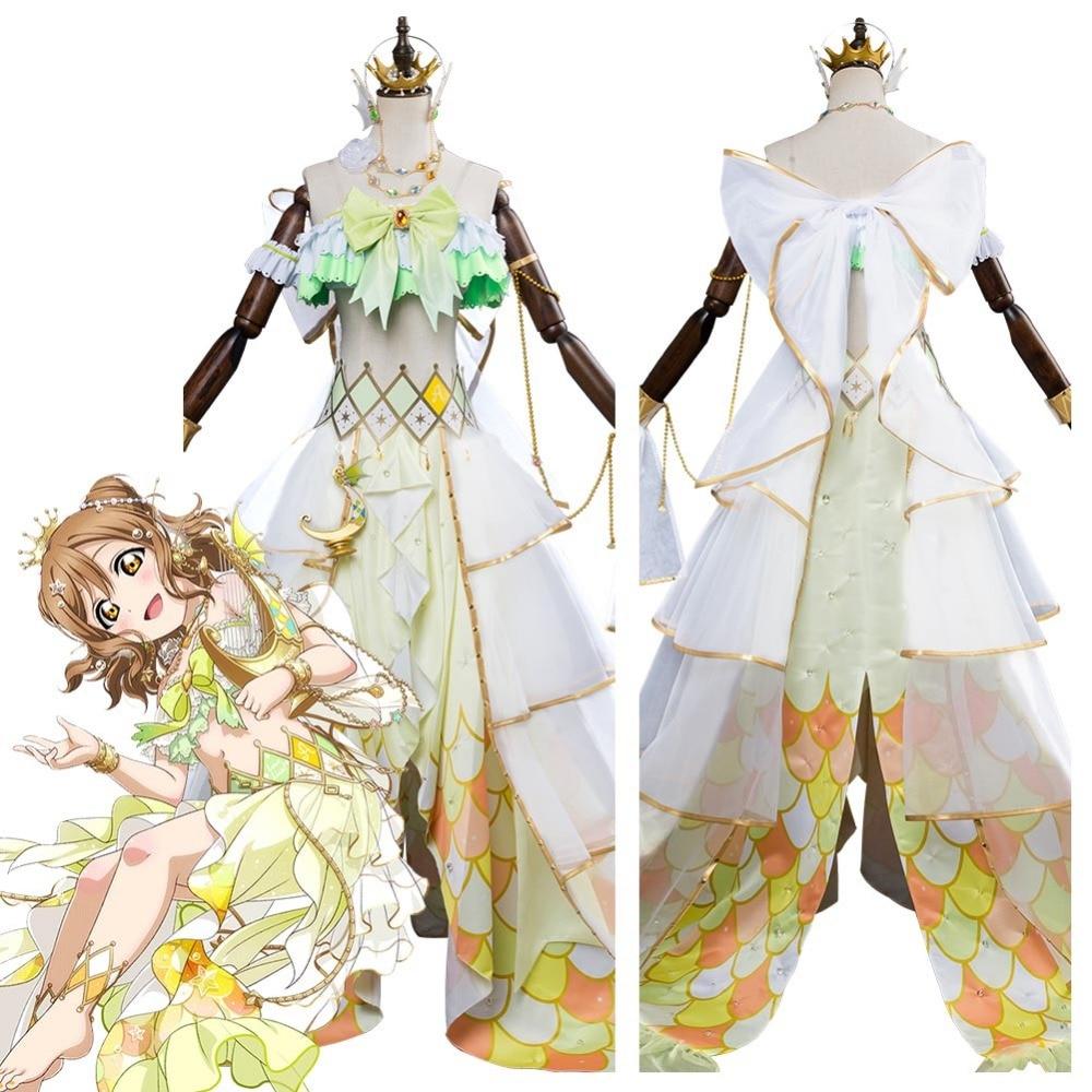 Lovelive Sunshine G's Magazine Kunikida Hanamaru Cosplay Mermaid Awaken Costume Halloween Carnival Cosplay Costumes