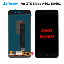 tested! For ZTE Blade A601 BA601 LCD Display + Touch Screen Digitizer Assembly Replacement for ZTE A601 lcd 5.0 inch new 5 inch full lcd display touch screen digitizer assembly replacement for zte blade x5 blade d3 t630 free shipping