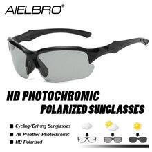 Bike Sports Sunglasses Polarized Lens for Golfing Driving Ru