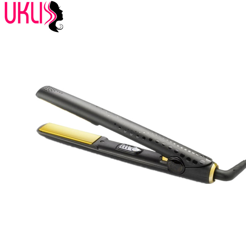 U Styler Gold Classic Professional Styler Perfect for Hair Straightening Irons Curls and Waves Hair Types