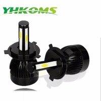 YHKOMS Car LED Headlight H4 Bulbs H8 H11 9005 9006 H1 H3 9004 9007 5202 880
