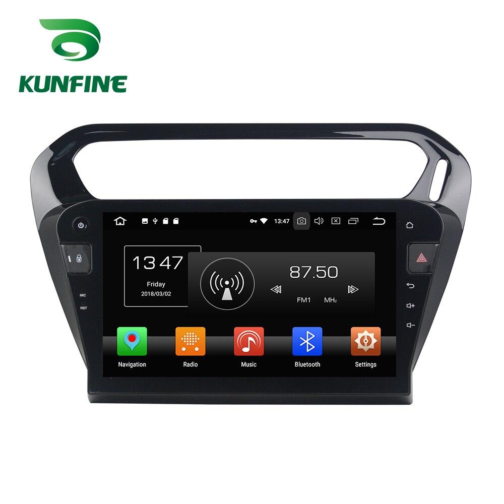 Octa Core 4 GB RAM Android 8.0 voiture DVD GPS Navigation lecteur multimédia voiture stéréo sans défaut pour PEUGEOT 301 2013-2016 Radio WIFI