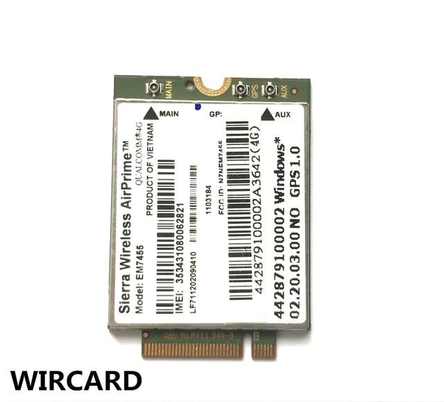 EM7455 FDD/TDD LTE Cat6 4G MODULE 4G carte pour ordinateur portable 2