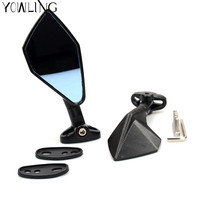 Universal Motorcycle CNC Mirrors Accessories Scooter Parts Moto Rearview Mirrors For Suzuki Kawasaki Honda Yamaha KTM Mirror