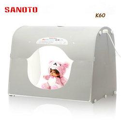 NEW Professional LED Softbox Photo Studio Photography Light Box Portable Mini Photo Box K60-LED 220/110V