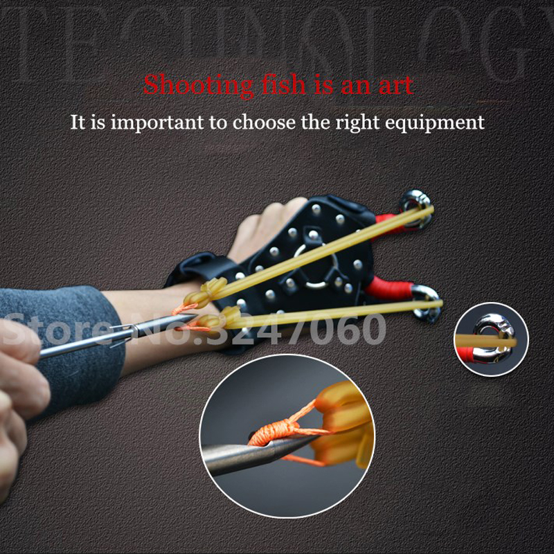 New Powerful Shoot Fishing Slingshot Hunting Suit combination high quality Catapult Functional Clamp Archer Shooter provexyz