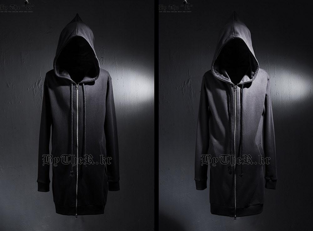 s-Размер 4xl! 2016 новый мужской одежды горячей продажи осенью случайный толстовка с капюшоном средней длины верхней одежды плюс размер певица костюмы