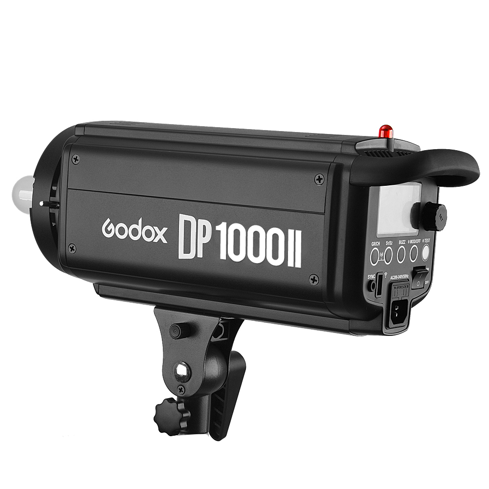 Godox DP1000II 1000Ws GN92 Built-in Godox 2.4G Wireless X System Offers Creative Shooting Photography Studio Strobe Flash Light